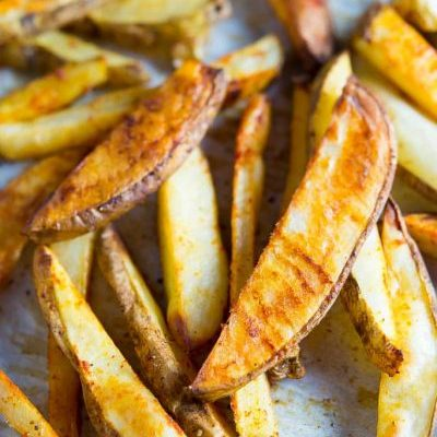 The Best Baked French Fry Recipe!